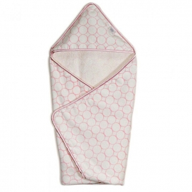 Полотенце с капюшоном Hooded Towel - Organic Pink Mod on IV