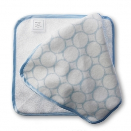 Детские мочалки SwaddleDesigns Washcloth set - Organic IV w/PK Mod C