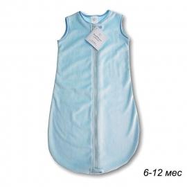 Детский спальный мешок SwaddleDesigns zzZipMe 6-12 М PB Baby Velvet/PB