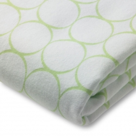 Простынь детская SwaddleDesigns Fitted Crib Sheet Kiwi Mod