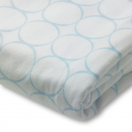 Простынь детская SwaddleDesigns Fitted Crib Sheet Pstl. Blue Mod