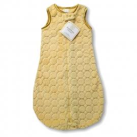 Детский спальный мешок SwaddleDesigns zzZipMe 6-12 М GL Puff w/GL Satin