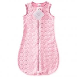 Детский спальный мешок SwaddleDesigns zzZipMe Pink Puff Circles