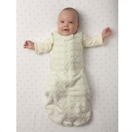 Детский спальный мешок SwaddleDesigns zzZipMe 6-12 М TQ Puff w/Dk Satin