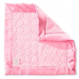 Платочек обнимашка Baby Lovie-плюшевая нежность Pink Puff Circles
