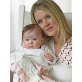 Платочек обнимашка Baby Lovie-плюшевая нежность Red Puff Circle