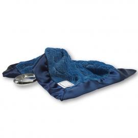 Платочек обнимашка Baby Lovie-плюшевая нежность True Blue Puff C