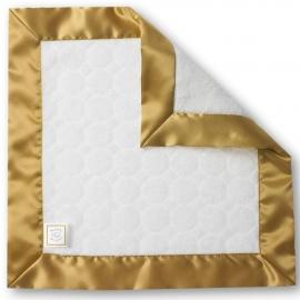 Комфортер платочек обнимашка Baby Lovie SwaddleDesigns плюшевая нежность Ivory Puff w/Gold
