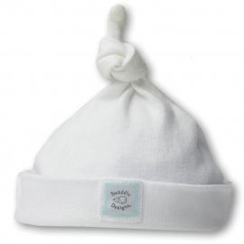 Шапочка Knotted Hat w/Logo WHIte w/PB Dots