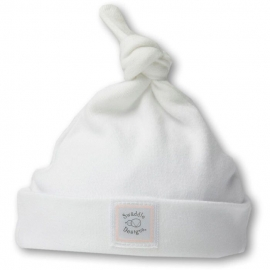 Шапочка Knotted Hat w/Logo White w/PP Dots