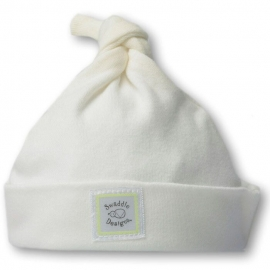 Шапочка Organic Knotted Hat Ivory w/KW Dots