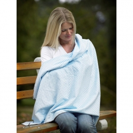 Фланелевая пеленка для новорожденного SwaddleDesigns Sterling Owls