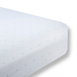 Простынь детская Fitted Crib Sheet PP & Sterling Dot