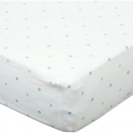 Простынь детская Fitted Crib Sheet SC & Sterling Dot