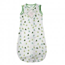Спальный мешок для новорожденного SwaddleDesigns zzZipMe Sack 3-6M Flannel PG Lt Chickies