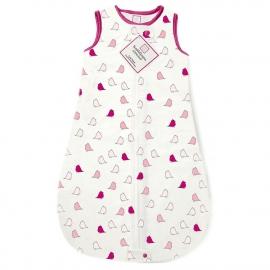 Спальный мешок для новорожденного SwaddleDesigns zzZipMe Sack Flannel VB Lt Chickies