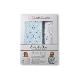 Наборы пеленок SwaddleDesigns Swaddle Duo Sparklers