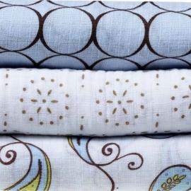 Набор пеленок SwaddleDesigns SwaddleLite Pastel Blue Modern
