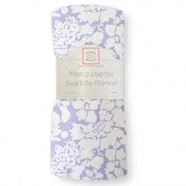Пеленка детская тонкая SwaddleDesigns Маркизет Lavender Lush