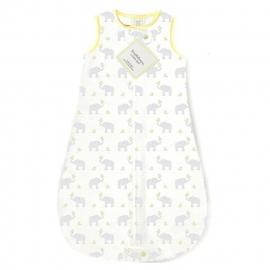 Спальный мешок для новорожденного SwaddleDesigns zzZipMe Sack 6-12M Flannel PY Elephant & Chickies