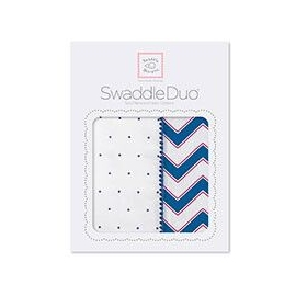 Наборы пеленок SwaddleDesigns Swaddle Duo True Chevron