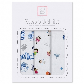Набор пеленок SwaddleDesigns SwaddleLite Disney IASW True Blue
