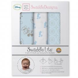 Набор пеленок SwaddleDesigns SwaddleLite TG/PB Mickey