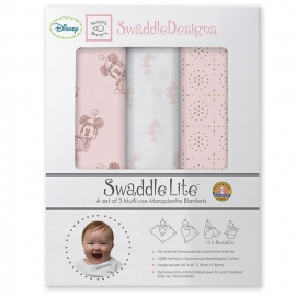 Набор пеленок SwaddleDesigns SwaddleLite Disney TG/PP Minnie