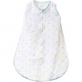 Спальный мешок Muslin zzZipMe Sack - 6-12M Blue Dots