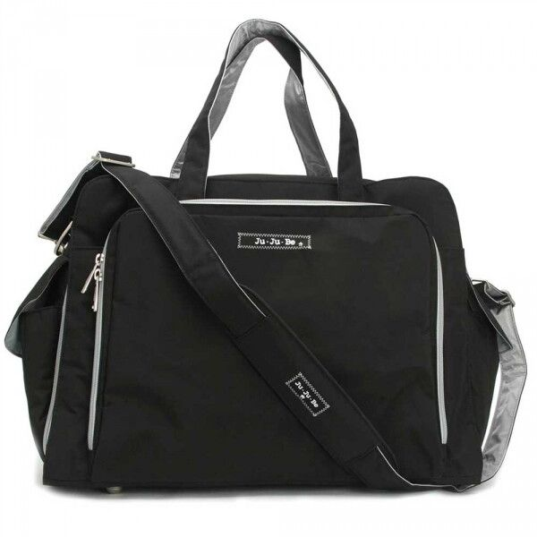 Дорожная сумка или сумка для двойни Ju-Ju-Be Be Prepared black/silver