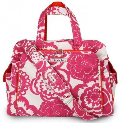 Дорожная сумка или сумка для двойни Ju-Ju-Be Be Prepared fuchsia blossums