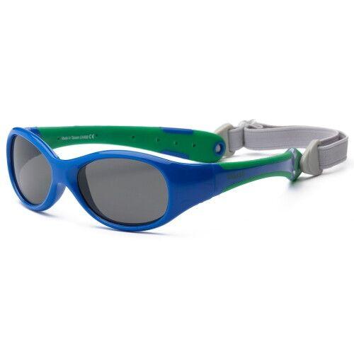 Солнечные очки для малышей Real Kids 0+ синий/зеленый