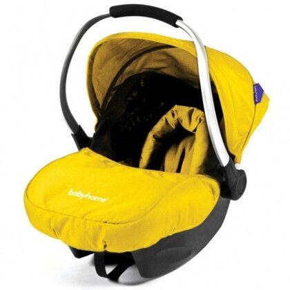 Автокресло Babyhome EGGO+ Yellow