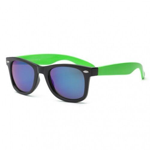 Очки для взрослых и подростков Swag черный/зеленый