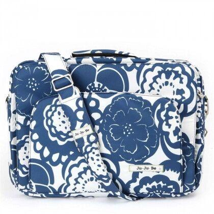 Cумка для ноутбука Ju-Ju-Be Giga Be Laptop Large cobalt blossoms