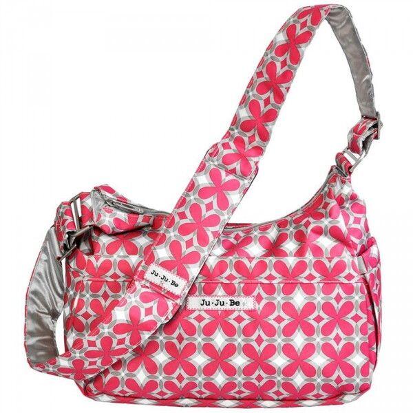 Сумка для мамы Ju-Ju-Be HoboBe pink pinwheels