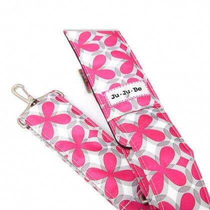 Messenger Strap ремень pink pinwheels