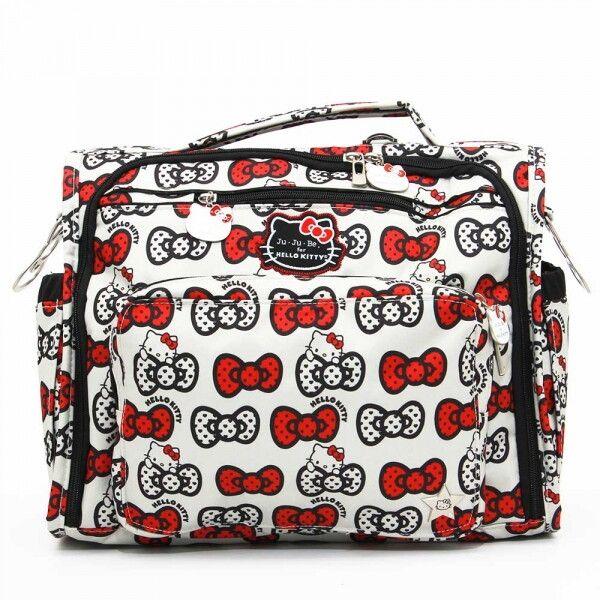 Сумка рюкзак для мамы Ju-Ju-Be B.F.F. hello kitty peek a bow