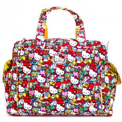 Дорожная сумка или сумка для двойни Ju-Ju-Be Be Prepared hello kitty tick tok