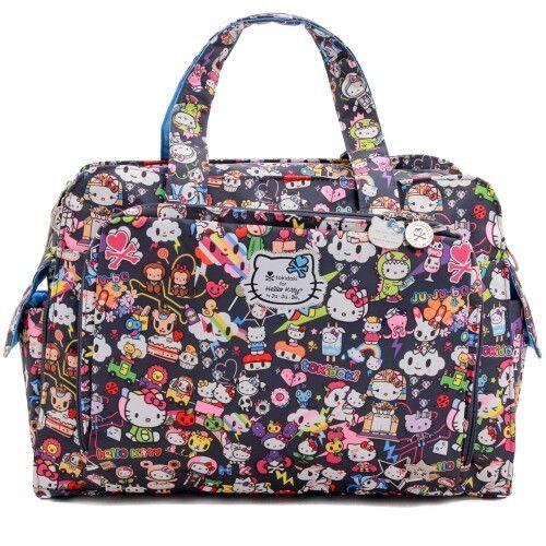 Дорожная сумка или сумка для двойни Ju-Ju-Be Be Prepared tokidoki dream world