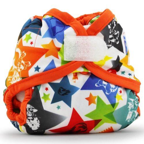 Обложка подгузник Newborn Aplix Cover Kanga Care Dragons Fly/Poppy