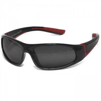 Детские солнцезащитные очки Real Kids Bolt 7+ черный/красный