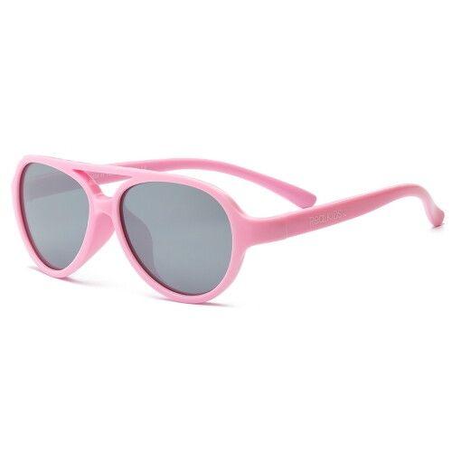 Детские солнцезащитные очки Real Kids Авиаторы 7+ розовые