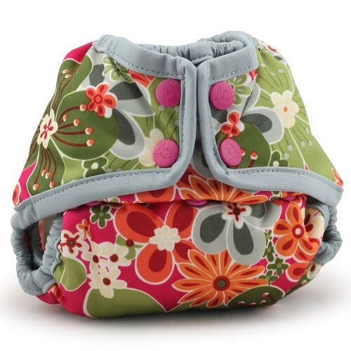 Подгузник для плавания Newborn Snap Cover Kanga Care Perky Perennials