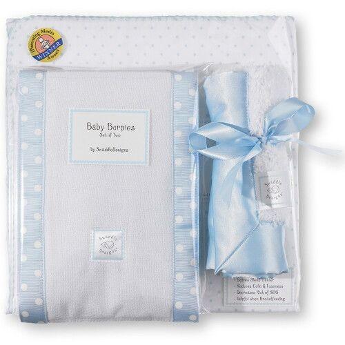 Подарочный набор для новорожденного Gift Set Pstl Blue Dot