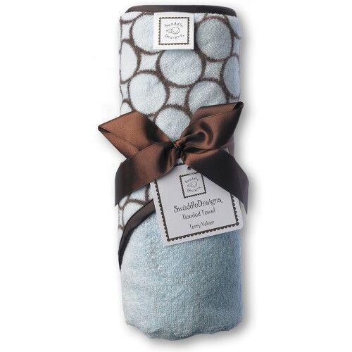 Полотенце с капюшоном Hooded Towel Blue w/BR Mod C