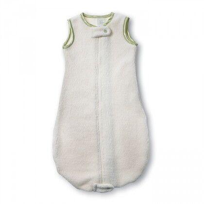 Спальный мешок для детей SwaddleDesigns эко флис TOG 1.5 Organic zzZipMe 6-12 М Kiwi Trim