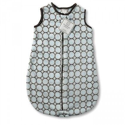 Спальный мешок детский SwaddleDesigns zzZipMe 6-12 М Blue w/BR Mod C