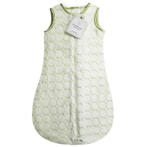Детский спальный мешок SwaddleDesigns zzZipMe Kiwi Puff Circle