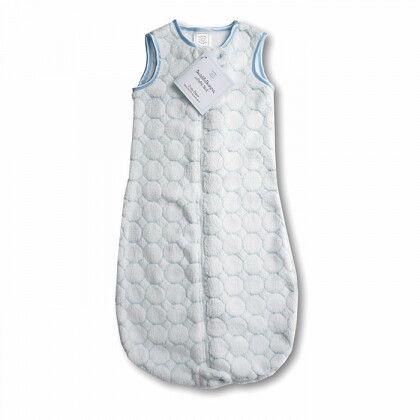 Детский спальный мешок SwaddleDesigns zzZipMe 3-6 М Pstl Blue Puff C